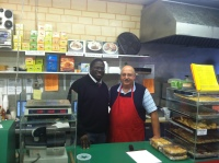 Salim opened his own deli in 1979 after studying at the University of Pittsburgh.